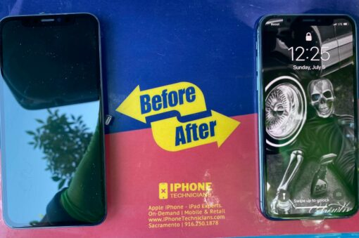 iPhone X Screen Replacement Stockton California