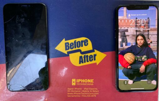 iPhone X Screen Replacement Sacramento California