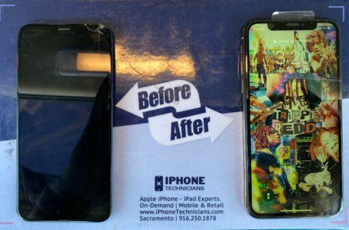iPhone Xs Max Screen Replacement Sacramento California