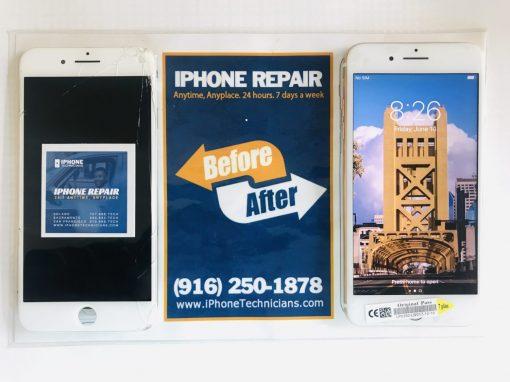 Carmichael Sacramento iPhone 7 Plus Screen Fixed for Sara