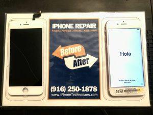iPhone 6s Screen Repair California State Assembly
